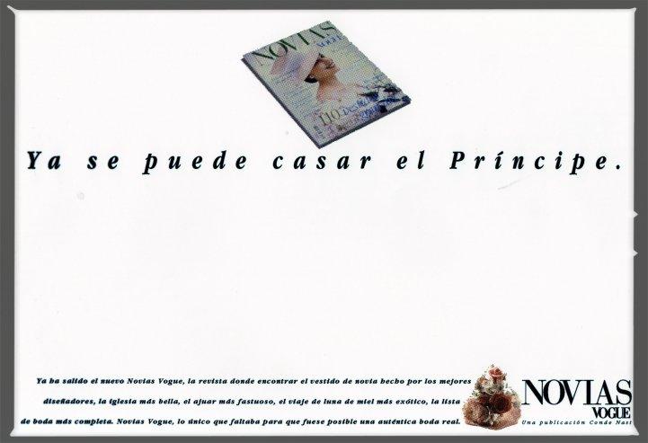Vogue Ya se puede casar el Príncipe con Marco